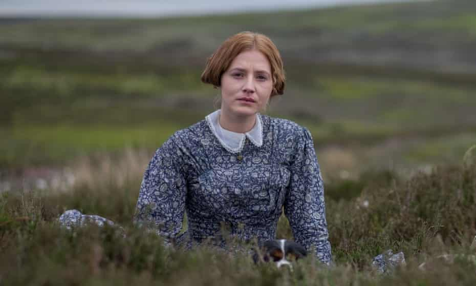 Sharp critic of a class-ridden society … Charlie Murphy as Anne Brontë in BBC1's To Walk Invisible.