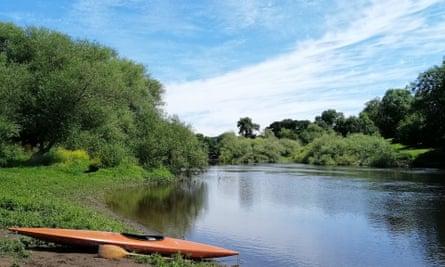 the river severn near Shrewsbury