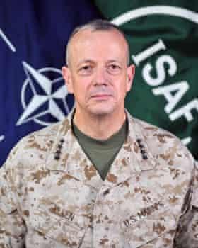 Lt Gen John Allen.