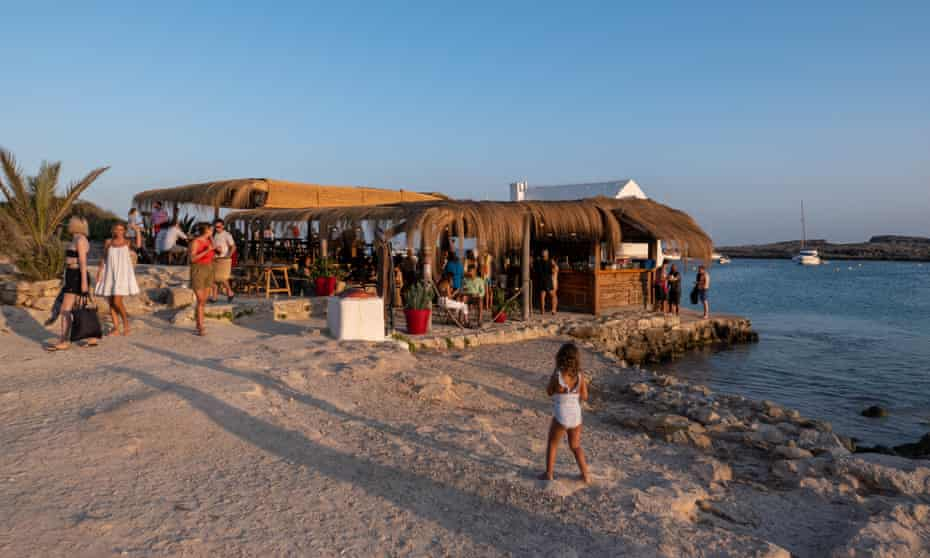 Spirit of the island: Bucaneros bar, widely known as Santiago's.