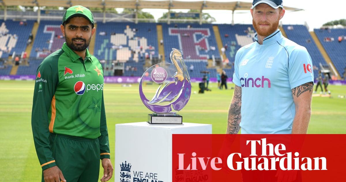 England v Pakistan: first one-day international – live!