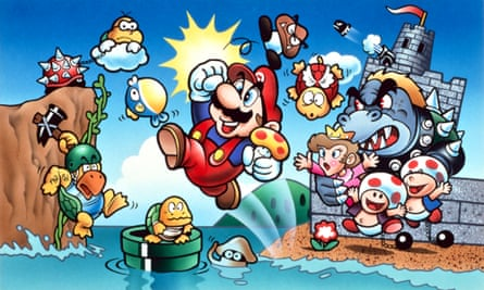 Super Mario's 35th birthday.