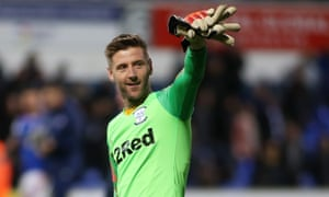 Paul Gallagher scored for Preston – and then went in goal after Chris Maxwell was sent off.