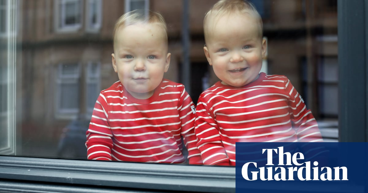 Bringing up baby twins during lockdown – a photo-essay