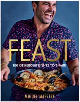 Miguel Maestre's new book, Feast.