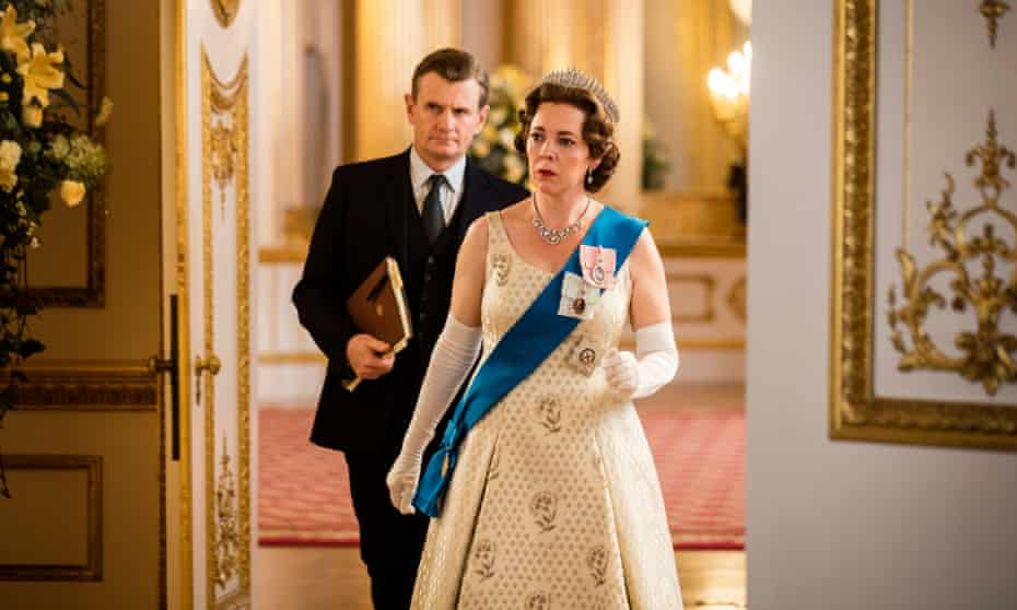 Beaming humanity: Olivia Colman in The Crown, season three.