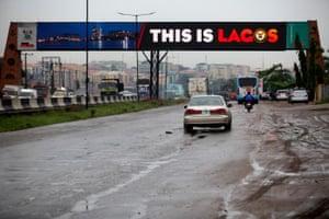 Traffic on the Lagos-Ibadan expressway last week.