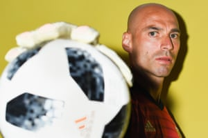Goalkeeper Willy Caballero hopes the ball will stick to his gloves in the same fashion during Argentina's World Cup campaign, which opens against Iceland on Saturday.