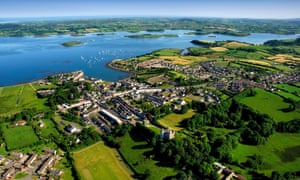 Killyleagh a village on the banks of Strangford Lough