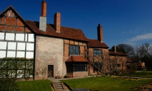 New Place which was the site of the house where William Shakespeare died in Stratford upon Avon, UK.