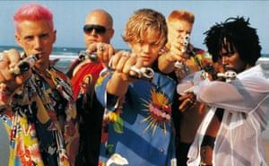 Leonardo DiCaprio and chums in Romeo + Juliet.