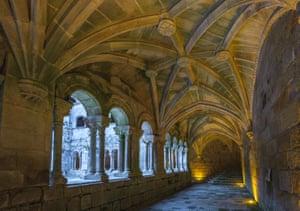 Santo Estevo's cloisters.