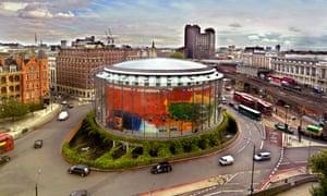 The BFI Imax cinema near Waterloo.