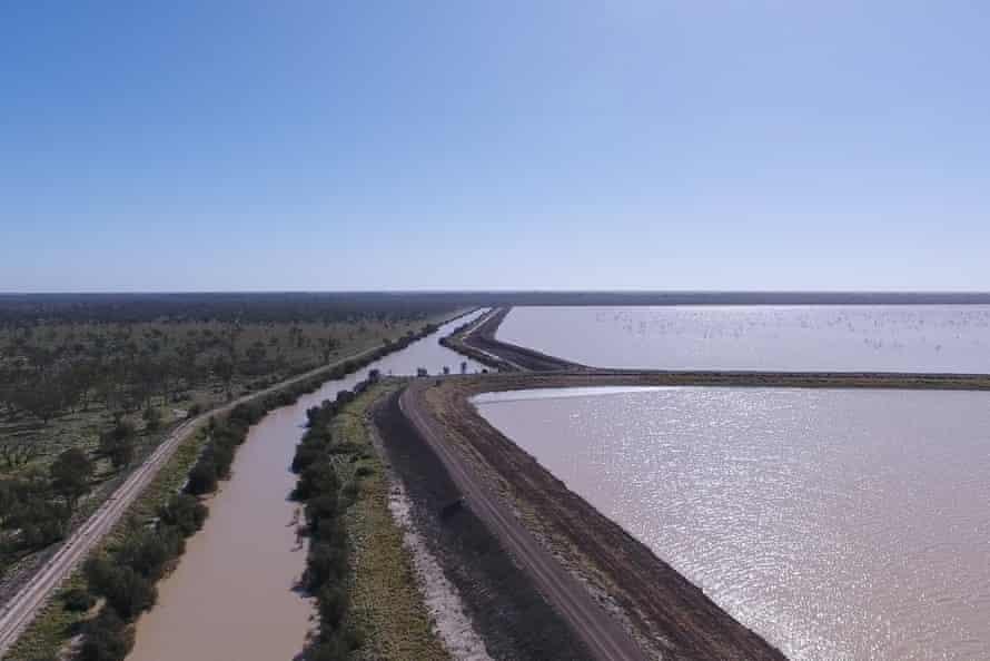 A floodplain