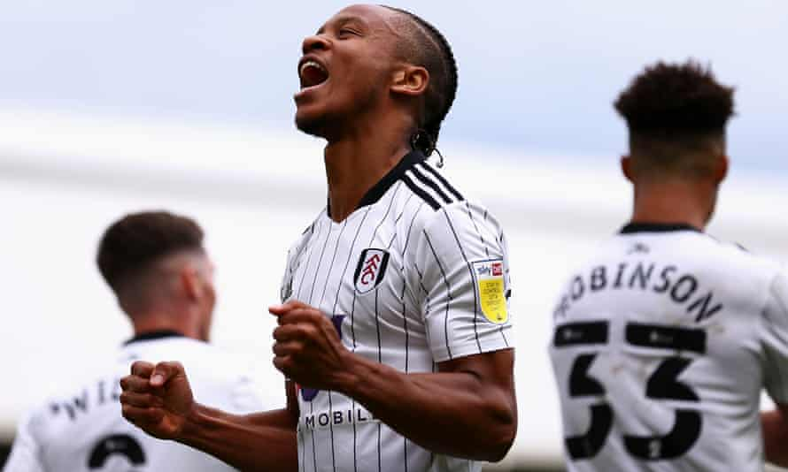 Bobby Decordova-Reid doubles Fulham's lead in their 3-0 win over Stoke.