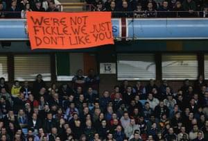 Villa v Fulham in March 2006.