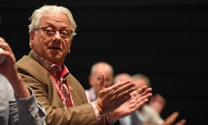 Jon Lansman, founder of the Labour party's Momentum movement, seen here at the party conference in Brighton, September 2019.