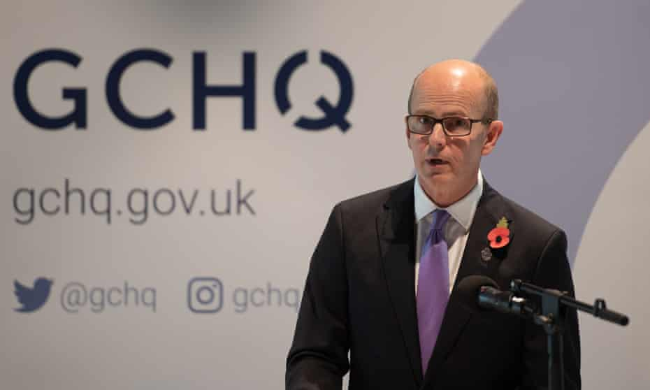 GCHQ director Jeremy Fleming said the agency does not 'reflect the country we're here to serve'.