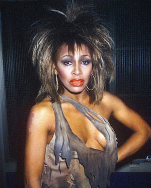 A powerful tempest blowing through pop ... Tina Turner in 1984.