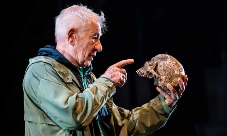 Ian McKellen's Hamlet at the Theatre Royal Windsor.