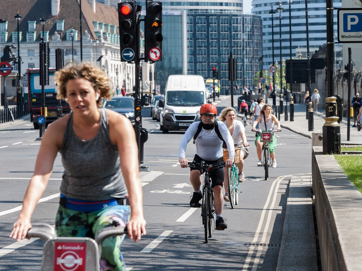 Two Wheels Good Bike Sales Soar As Uk Takes To Cycling Life And Style The Guardian