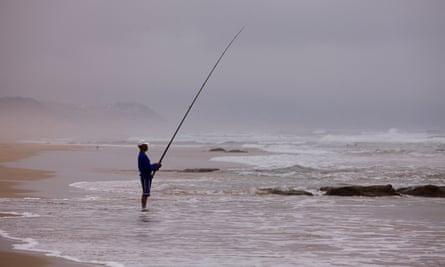 Sea Fishing from Beach, Tergniet Rheebok Beach
