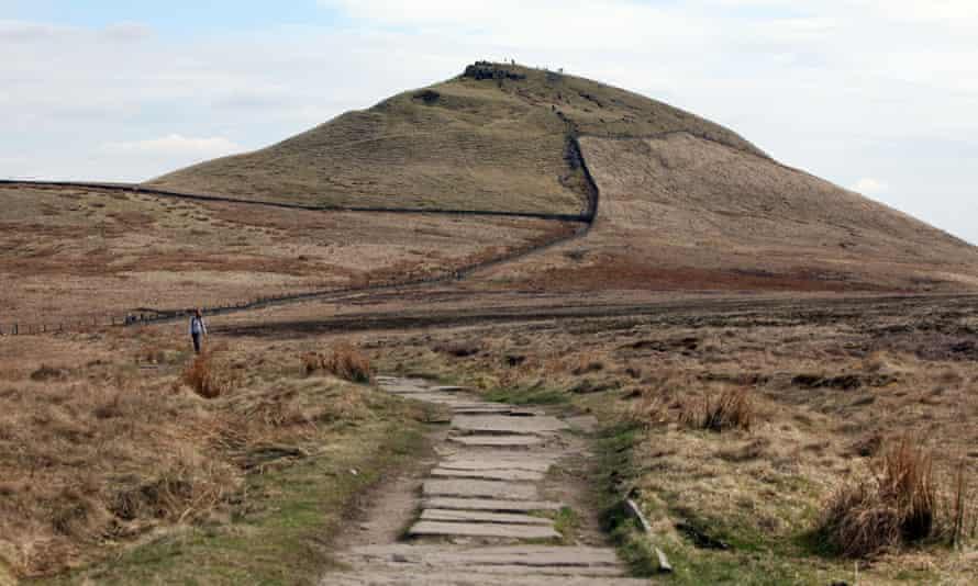 Shutlingsloe hill near Macclesfield.