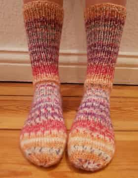 Nadja Bossman's socks