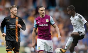 Barry Douglas, James Chester and Ryan Sessegnon all are ready to step up to the Premier League. Composite: Jim Powell