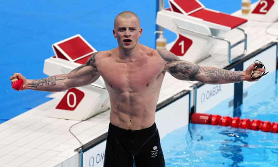 Adam Peaty wins GB's first gold at Tokyo 2020 and makes Olympic history    Adam Peaty   The Guardian