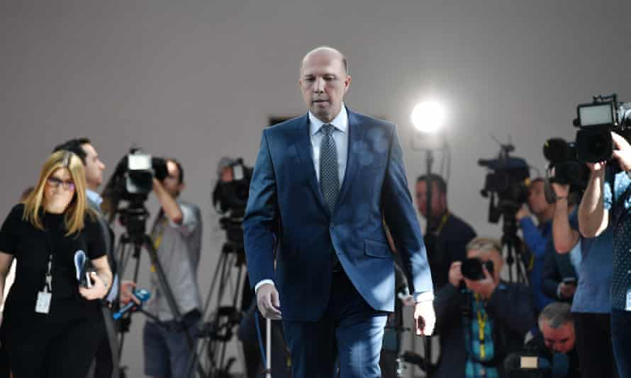 Peter Dutton: white South African farmers need help from a 'civilised country' like Australia