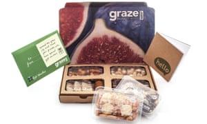 A snackbox from Graze.