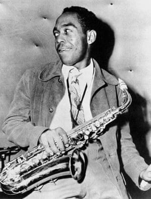 Jazz artist Charlie Parker in 1945