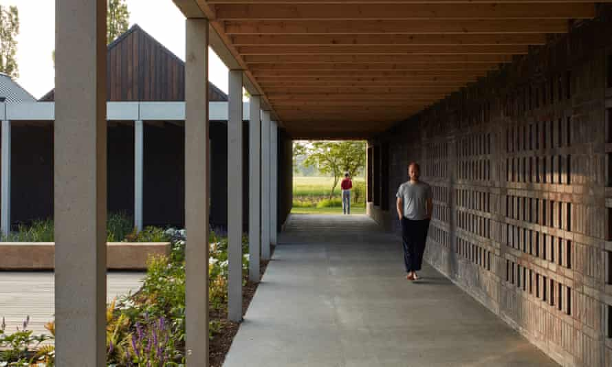 Vajrasana Buddhist Retreat Centre in Suffolk, refurbished and extended by Walters & Cohen
