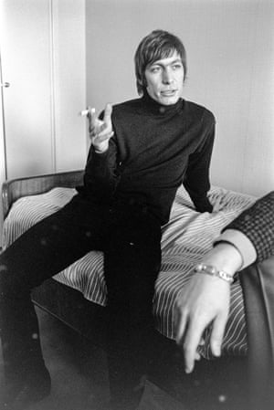 Watts is seen at Park Aveny Hotel in Gothenburg on 30 March 1965