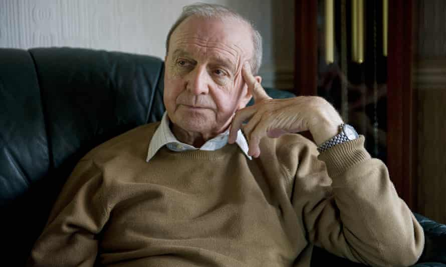 Jimmy Armfield, pictured at home in 2013.