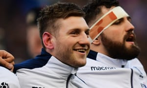Finn Russell will start against England despite calls for him to be dropped.