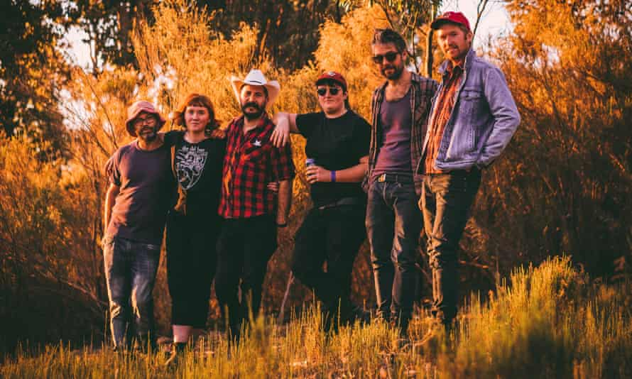 Melbourne band Cash Savage and the Last Drinks