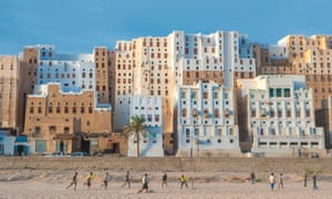 The ancient walled city of Shibam.