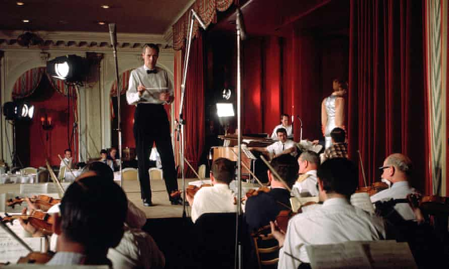 George Martin conducting