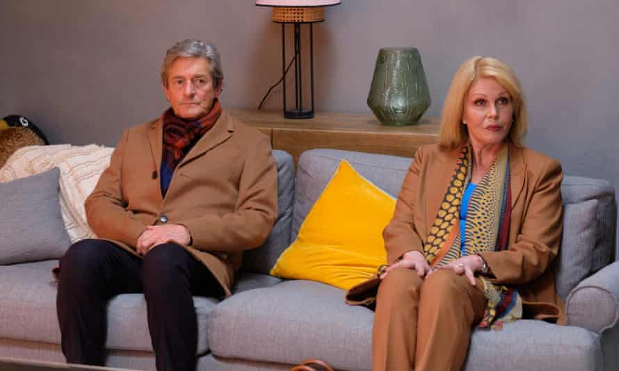 Lumley with Nigel Havers in Finding Alice.