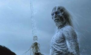 Supernatural threats do not suffice … a White Walker.