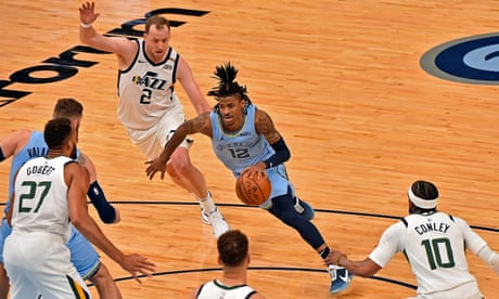 Ja Morant has emerged as a force for the Memphis Grizzlies in this year's NBA playoffs