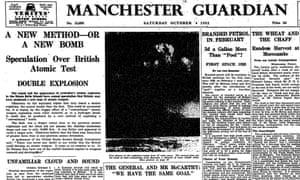 Manchester Guardian, 4 October 1952.