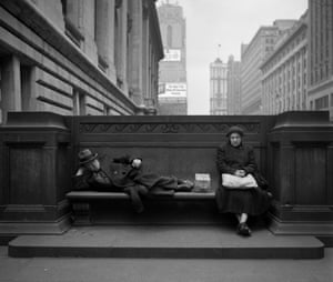 Sharing a Public Bench, 1949