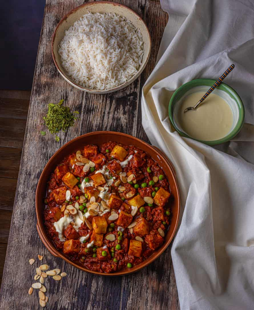 Paneer butter masala, by Meera Sodha. Food styling: Henrietta Clancy