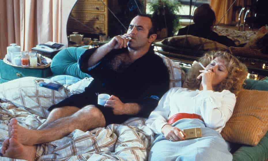Bob Hoskins and Helen Mirren in The Long Good Friday, 1980.