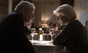 Twisty … McKellen and Mirren in The Good Liar.