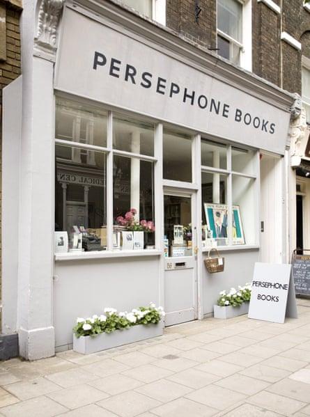 Persephone Books in London