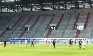 The Bundesliga match between Augsburg and Wolfsburg